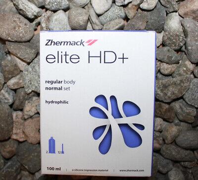 Elite Hd Regular Body Normal Set 100ml Impression Zhermack C203020 Exp2021-04