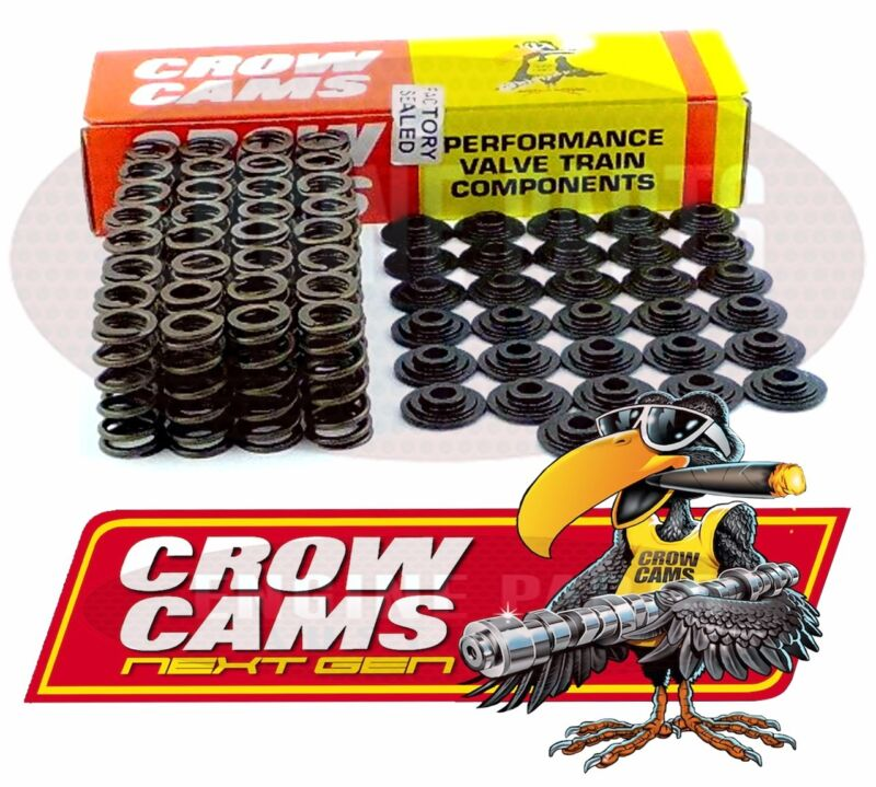Crow Cams AU Falcon 4L Dual Valve Springs /& Retainer Kit VTKAU 6 Cylinder
