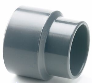 pvc reducing socket plain pipe fitting 25mm x 20mm 32l215 ebay. Black Bedroom Furniture Sets. Home Design Ideas