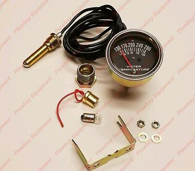New Temp Gauge Farmall A B C H M Cub 100 130 140 200 230 240 340 Super Lo-boy