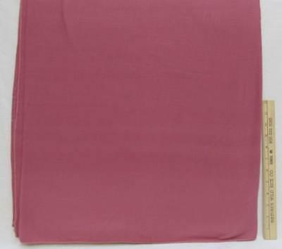 """Tablecloth Mauve Dusty Rose Color Cotton Blend Linen Type Rectangular 78"""" x 59"""""""