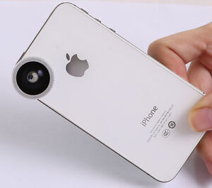 Magnetic180°Fish Eye Lens for Apple iPhone 6s 6s plus Mobile iPod MacBook Air