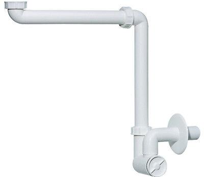 Dallmer Waschtisch Möbel Siphon Raumspar Geruchsverschluss Röhrensiphon Sifon