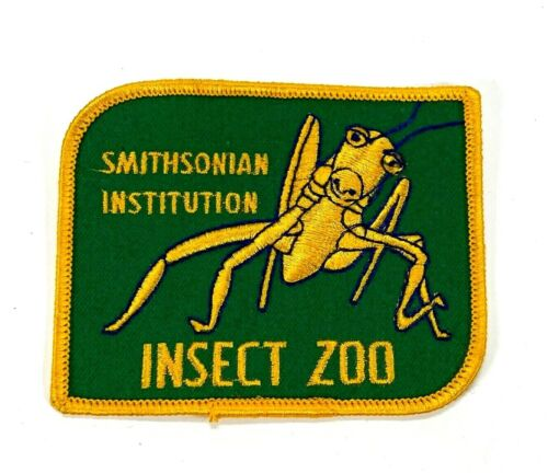 Smithsonian Institution Insect Zoo Praying Mantis Embroidered Patch