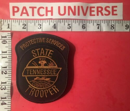 TENNESSEE STATE TROPPER  PROTECTIVE SERVICES  SHOULDER PATCH  RO24