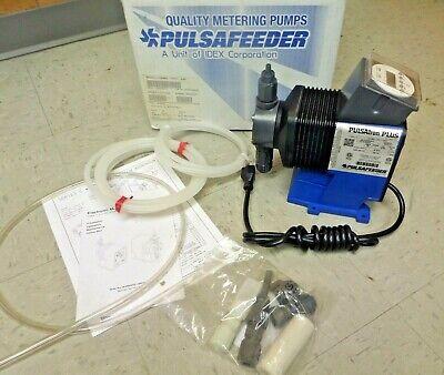Pulsafeeder Pulsatron Electronic Metering Pump Lc64ba-vtc1-xxx .60a 115v New