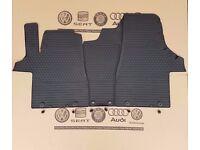 Gummimatten Gummi Fußmatte Matten vorn Original VW T5 T6 7H1061500C 82V