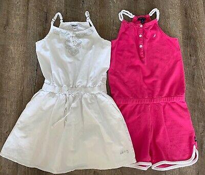 Dkny Dress & Nautica Girls Bodysuit Size 7