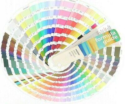 Pantone Color Formula Guide Fan Book 199-2000 Printmaking Art Tone Sampling