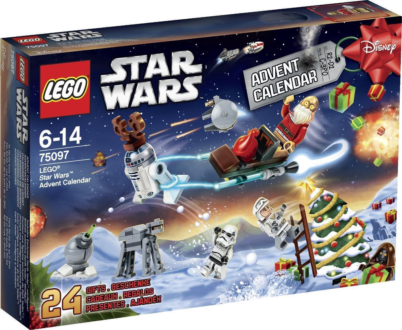 LEGO Star Wars Guerre Stellari 75097 Calendario dell'Avvento  2015 NUOVO