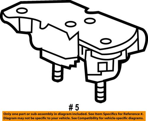 Ford Oem Engine Motor Mount Torque Strut 3w1z6068ba