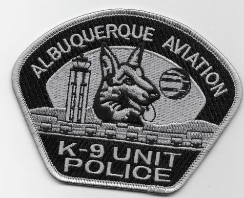 Subdued Aviation k9 k-9 Albuquerque Police State New Mexico NM