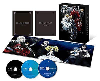 New Black Butler Kuroshitsuji Book of the Atlantic Limited Edition DVD CD Japan