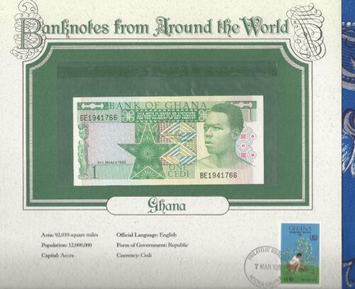 World Banknotes Ghana 1982 1 Cedi P17a UNC Birthday BE1941766