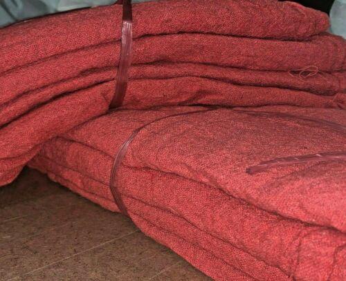 """500 new great mechanics shop rags towels red jumbo 13""""X14"""""""