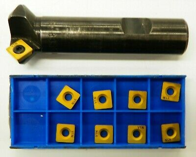 45 Indexable Countersink Chamfer Tool Sd 332p V1n Carbide Inserts B176