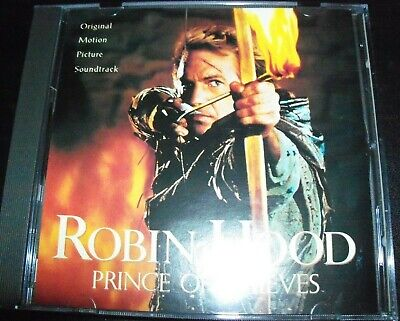 Robin Hood Prince Of Thieves Soundtrack (Michael Kamen) CD – Like New