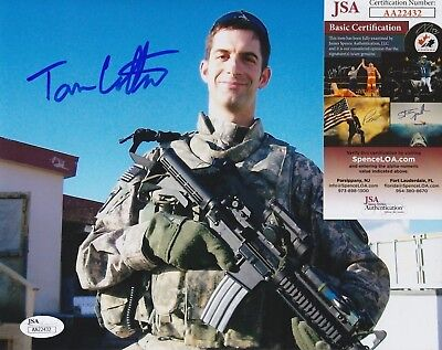 Tom Cotton Signed 8x10 Photo w/ JSA COA #AA22432 Arkansas Senator