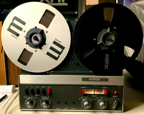 ~Vintage~ Revox A77-With Dustcover and Manual