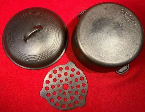 Renfrow Ware LA Cast Iron # 8 Dutch Oven