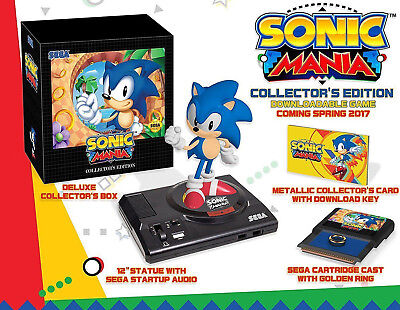 Sonic Mania  Collectors Edition  Playstation 4 Ps4  Collectible  Statue  New
