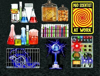 Halloween Laboratory Decorations (Mad Scientist Lab Haunted House Carnival Halloween Party Decoration)