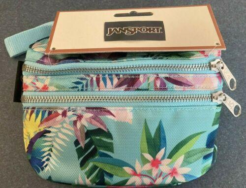 JanSport Hippyland Fanny Pack Adjustable Belt Tropical Glow Bag Purse Travel New