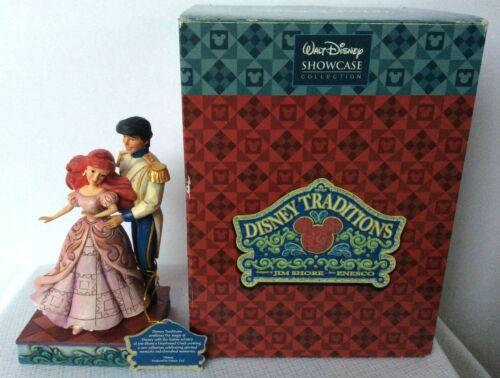 "Jim Shore Little Mermaid ""Worlds Unite"" Disney Traditions Showcase Ariel & Eric"