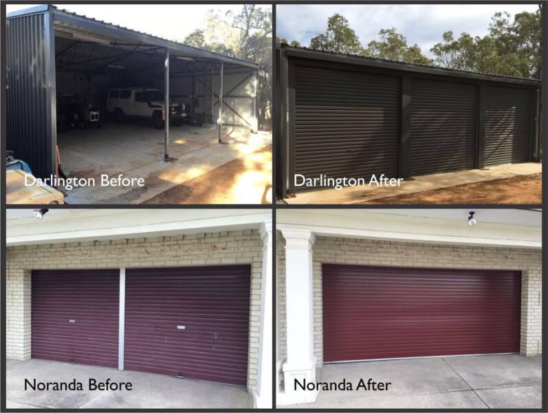 Perth Pro Garage Doors Roller Sectional Panel Tilt Doors