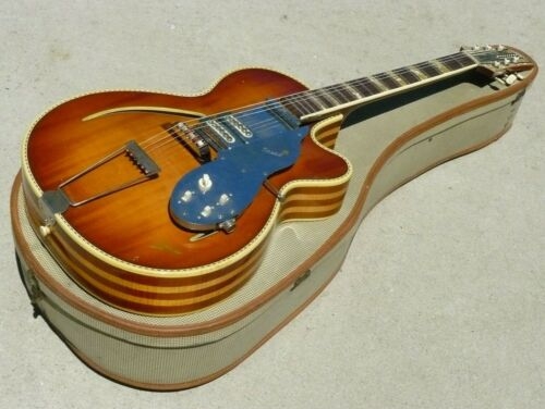 1961 Isana Archtop Acoustic Guitar