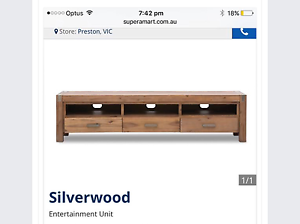 Matching TV unit & 2 bedside tables Collingwood Yarra Area Preview