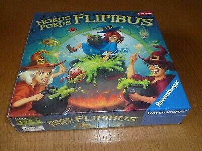 Ravensburger Spiel:Hokus Pokus Flipibus (Gesellschaftsspiel,Hexenküche ab 6J.NEU ()
