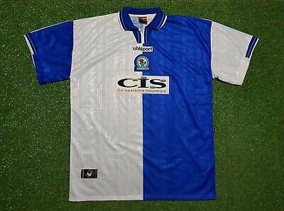 Blackburn Rovers Jersey XXL 1998 1999 Uhlsport Football Shirt Jersey 98/99 Cis image