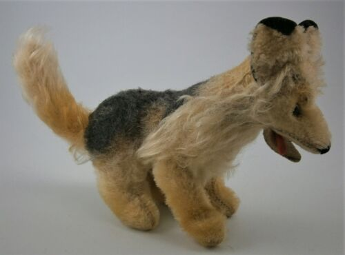 Vintage Steiff Miniature Fox made in Germany in the mid 1900