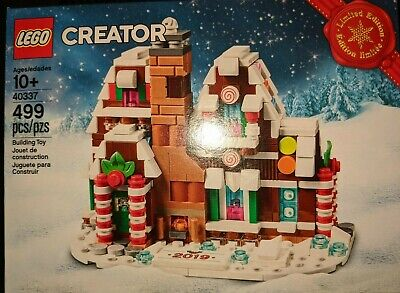 LEGO Mini Gingerbread House #40337 Limited Edition Seasonal |BRAND NEW SEALED