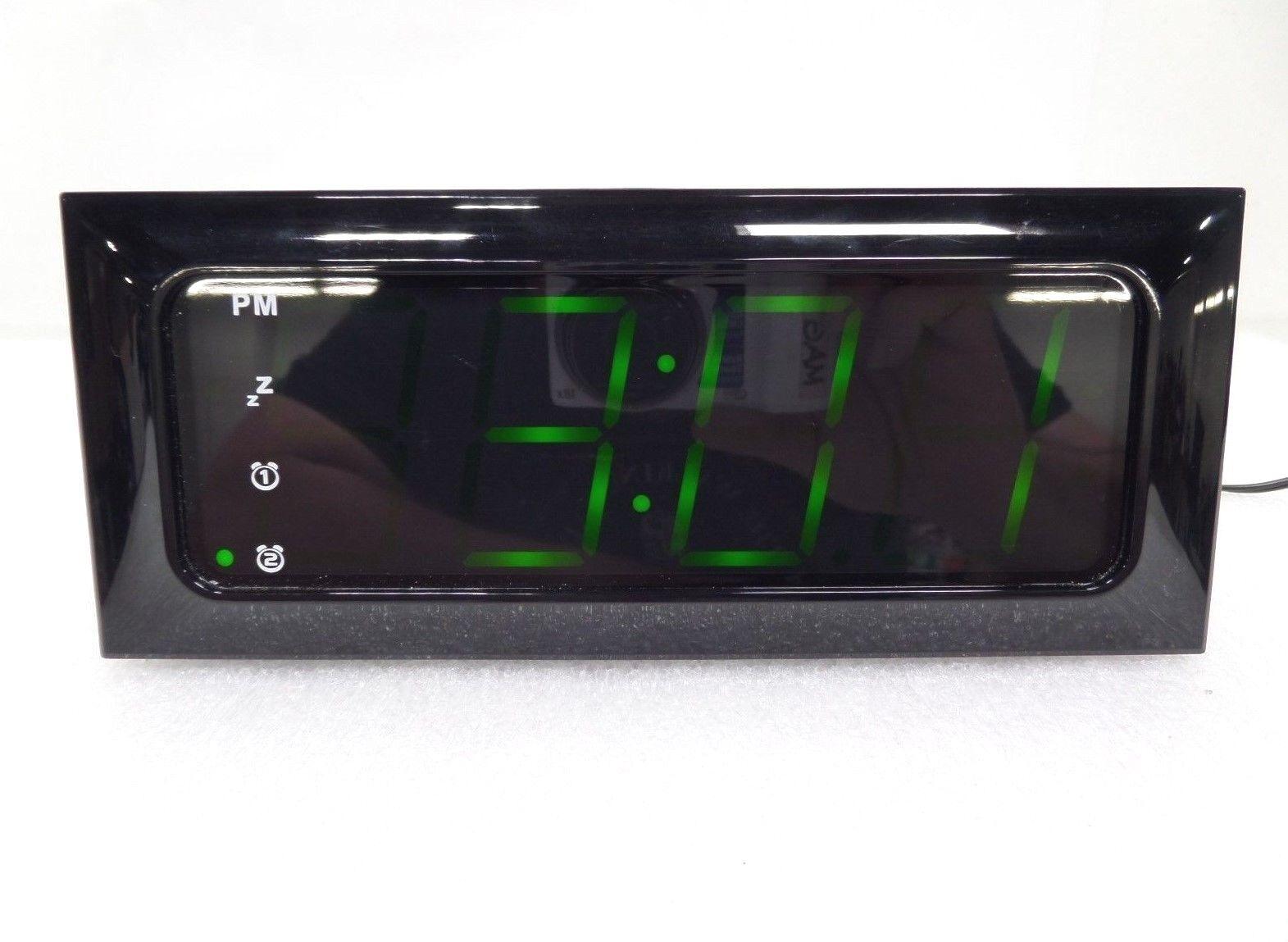 Insignia Digital AM/FM Clock Radio NS-CLOPP2 (17585)