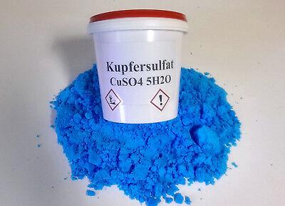 1 kg Kupfersulfat Blaustein Kupfervitriol CuSO4 (-pentahydrat)