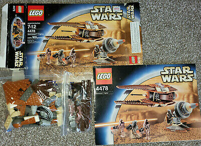 LEGO Star Wars Geonosian Fighter 4478 100% complete Clone Wars