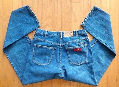 Vintage 90's men's Coca Cola Medium Wash Jeans Sz 32x34 EUC See All Pics