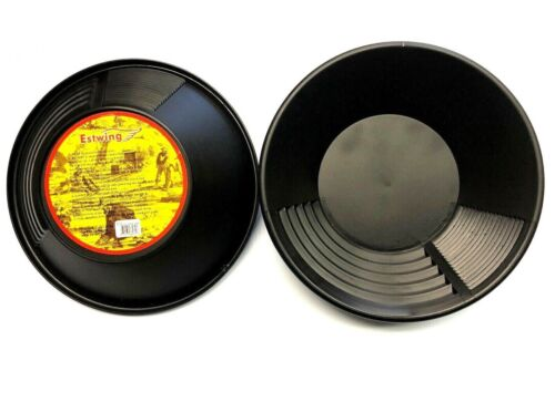"""New Estwing BP10  Black Heavy Duty Gold Pan 10""""  (2 PACK)"""