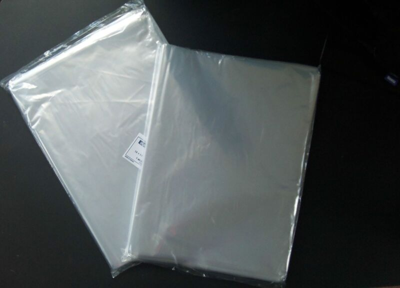 400 Clear 12x18 Poly Plastic Bags Flat Open Top 1 Mil New