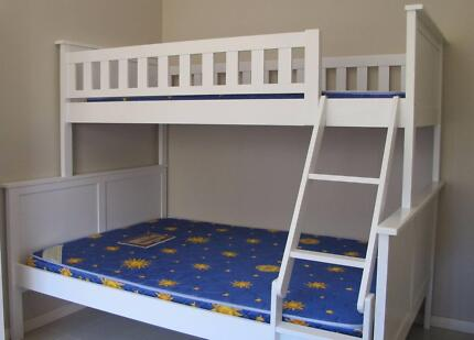 Near new Bunker Bed w/mattresses Denistone East Ryde Area Preview
