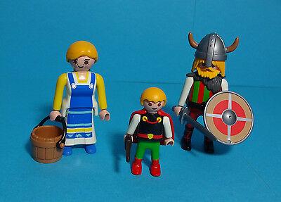 Playmobil Wikinger / Vikings ~ Familie / Family (7717)