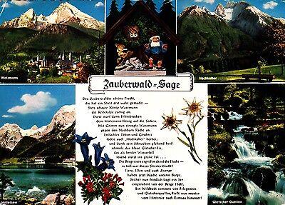 Zauberwald-Sage , Ansichtskarte 1972 gelaufen