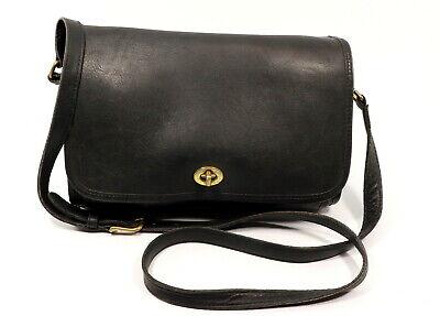 COACH Ridgewood Flap Leather Shoulder Bag M9D-9812