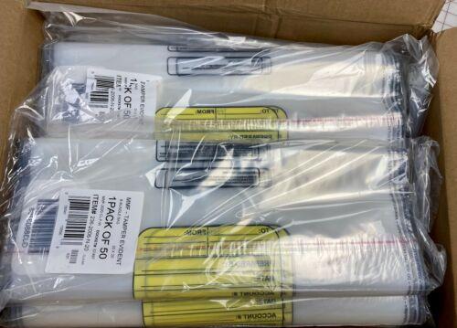 x250 MMF Tamper Evident Cash Bags 20x20 Clear MMF2362006N20 8-Bundle FreeShip