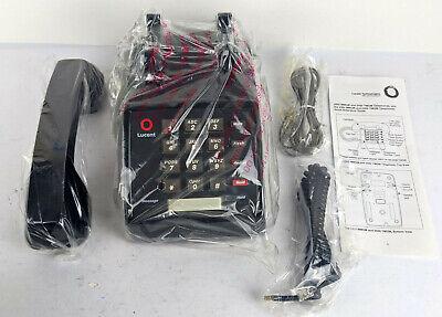 Vintage Lucent 2500 Ymgm-003 Black Push Button Phone New