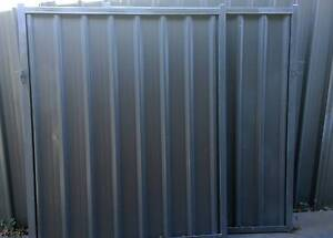 Woodland Grey Double Gate Colorbond - Used Glendenning Blacktown Area Preview