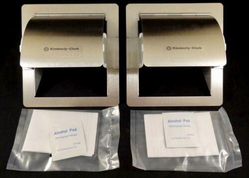 2 Piece Case, Kimberly-Clark Professional Recessed Coreless Roll Adapter E Kits