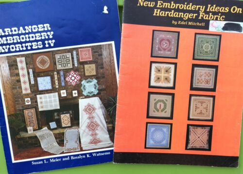 Hardanger Embroidery Favorites IV Pattern Book Lot - Doily Bell pull - New Ideas